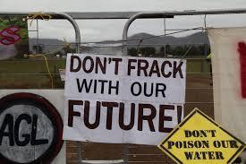 Renewables not fracking