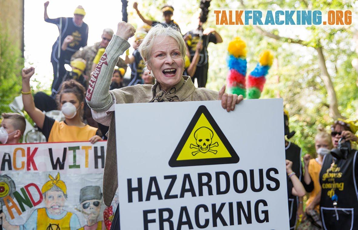 Lancashire protest against fracking