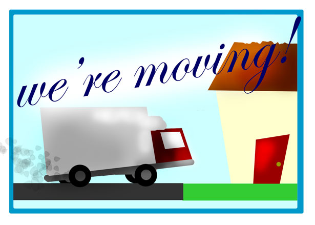 we're moving to a new business premises