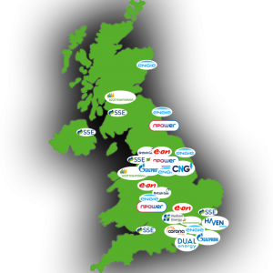 energy suppliers in England