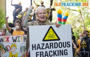 Lancashire protest against fracking